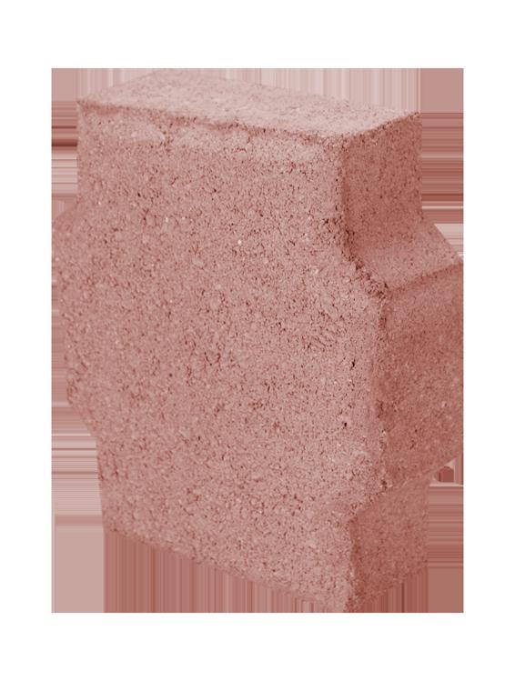 Adocreto Romano rojo * 20 piezas por metro cuadrado * Medidas: 8X22X25 cms * Recomendado para diseñar y dar vida a tu jardín o cochera * Peso aproximado 7.5 kg