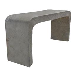 Banca de concreto * Puede ser utilizada en parques o jardines. * Medida: 35X55X1.20 cms * Elaborada de concreto