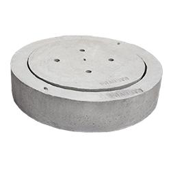 Tapa y brocal * Utilizado para alcantarillado * 96 cms de diámetro del brocal * 74 cms de diámetro de la tapa
